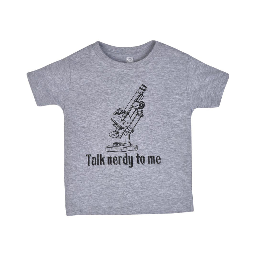 TALK NERDY TO ME T-SHIRT - TODDLER