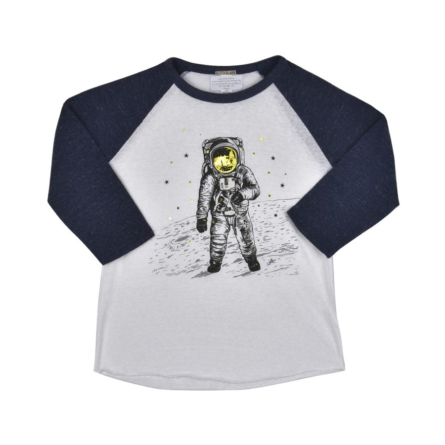 MAN ON THE MOON T-SHIRT- LITTLE KIDS