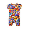INCHWORM ALLEY MARBLE SHORTS ROMPER
