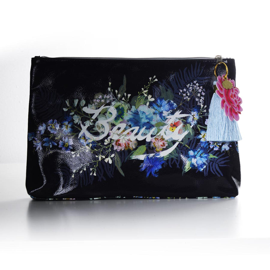 PAPAYA! BEAUTY BOUQUET LARGE POUCH