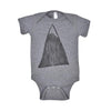 "BIRD AND ELEPHANT ""ROCK ON"" BABY BODYSUIT"