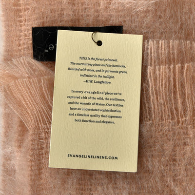LUXURY MOHAIR THROW BY EVANGELINE LINENS - Life Soleil