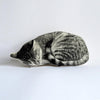 SILKSCREEN SLEEPING CAT PILLOW - Life Soleil