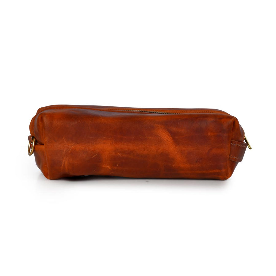 STURDY BROTHERS HORWEEN LEATHER DOPP KIT