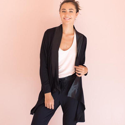 BAMBOO SWING JACKET- WOMEN'S