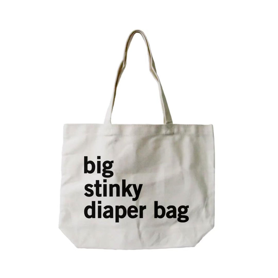 BIG STINKY DIAPER CANVAS BAG