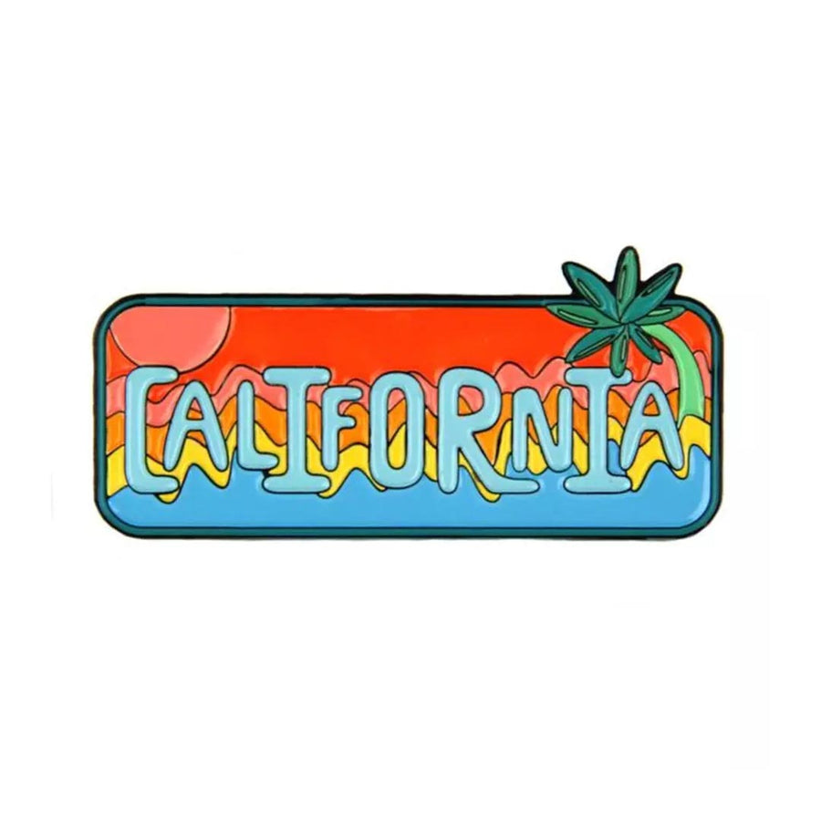 MOKUYOBI CALIFORNIA ENAMEL PIN