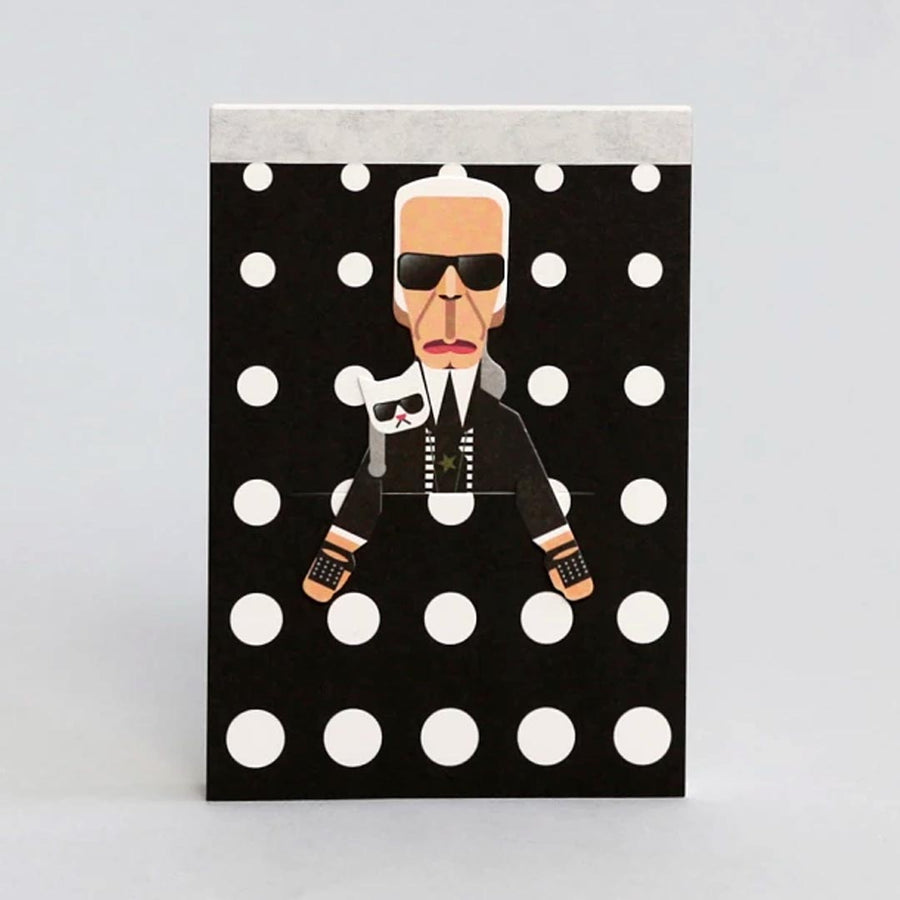 FASHION KING KARL LAGERFIELD ARTIST SKETCHBOOK