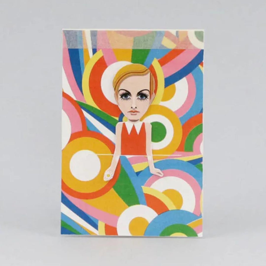 FASHION MOD TWIGGY ARTIST SKETCHBOOK