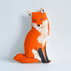 SILKSCREEN FOX PILLOW