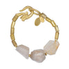 WE DREAM IN COLOR RUTILATED QUARTZ BRACELET