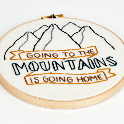 GOING TO THE MOUNTAINS PATCH