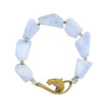WE DREAM IN COLOR BLUE LACE AGATE BRACELET