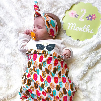 BABY SWADDLE AND HEADBAND