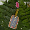 PAPAYA! LUGGAGE TAG IN GYPSY PEACH