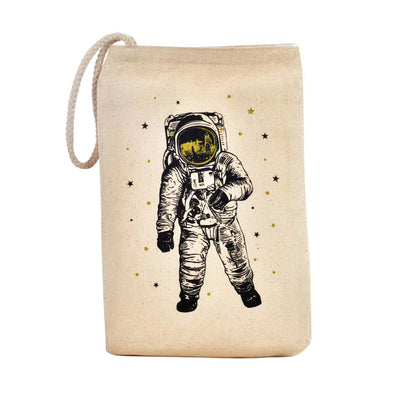 MAN ON THE MOON LUNCH BAG