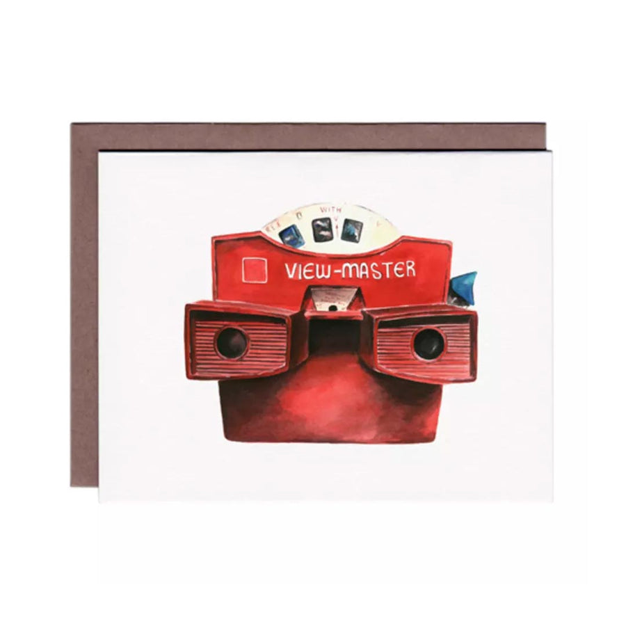 MFC STUDIO VIEW MASTER GREETING CARD