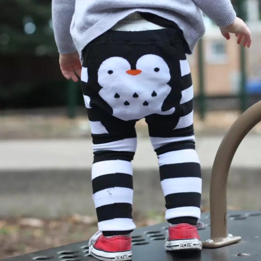 DOODLE PANTS PENQUIN STRIPES- BABY & TODDLER