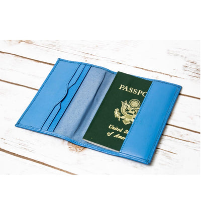 "SOOTHI GENUINE LEATHER ""ANOTHER ADVENTURE"" PASSPORT COVER"