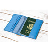 "SOOTHI ""ESCAPE THE ORDINARY"" GENUINE LEATHER PASSPORT COVER"