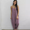 DAUGHTERS OF CULTURE PLUM JUMPSUIT