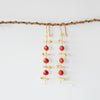 ANNAHMOL RUME CLOVE AND SEED EARRINGS