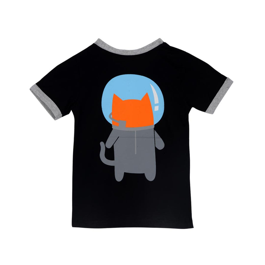 DOODLE PANTS SPACE CAT SHIRT-TODDLER - Life Soleil