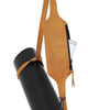 JAVIN BLACK LEATHER YOGI MAT STRAP