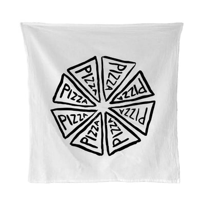 PIZZA PARTY FLOUR SACK KITCHEN TOWEL