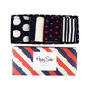ASSORTED HAPPY SOCKS GIFT BOX - MEN