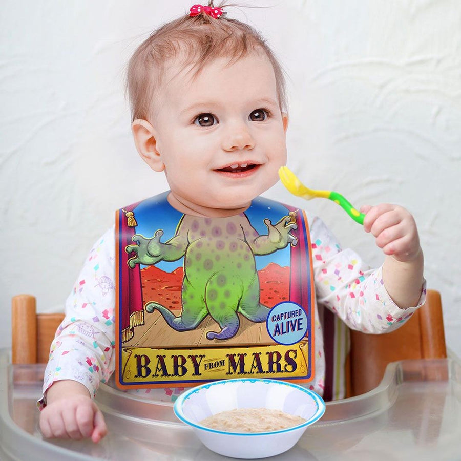 TRAVELING SLIDESHOW REUSABLE BIBS-20 COUNT