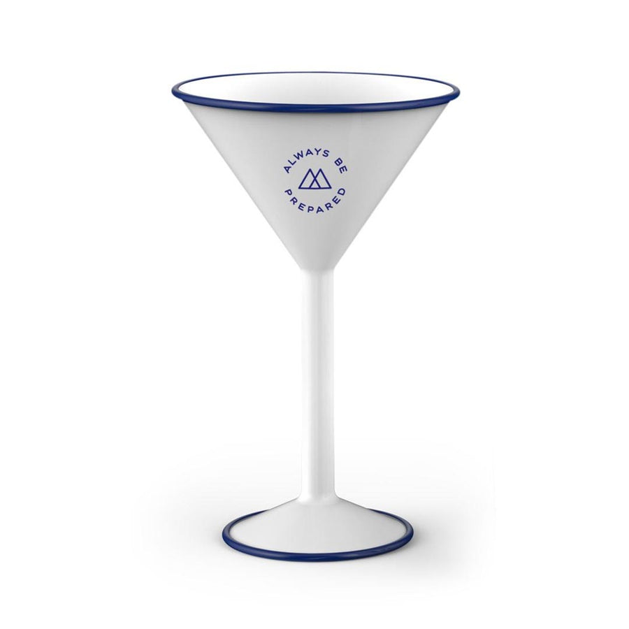 ENAMELED STEEL CAMPING MARTINI CUP - Life Soleil