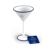 ENAMELED STEEL CAMPING MARTINI CUP