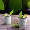 ENAMELED STEEL CAMPING SHOT CUP