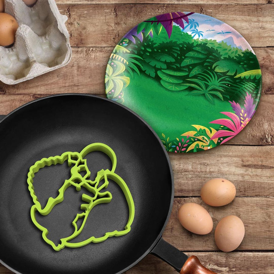 DINO BREAKFAST MOLD PLATE SET