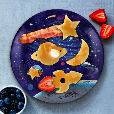 OUTER SPACE BREAKFAST MOLD PLATE SET