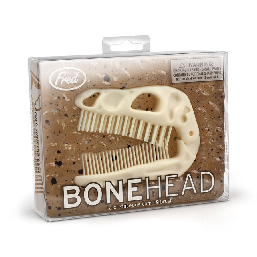 DINO BONEHEAD FOLDING BRUSH AND COMB