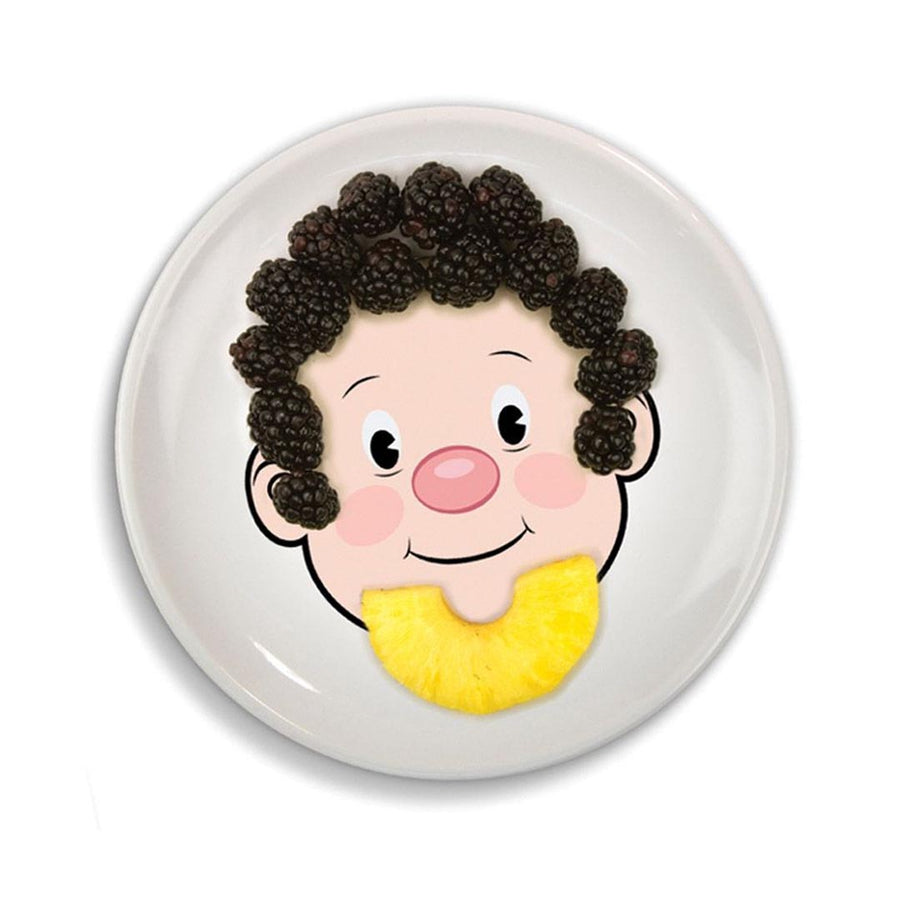 MR FOOD FACE ART PLATE