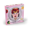 MRS. FOOD FACE ART PLATE