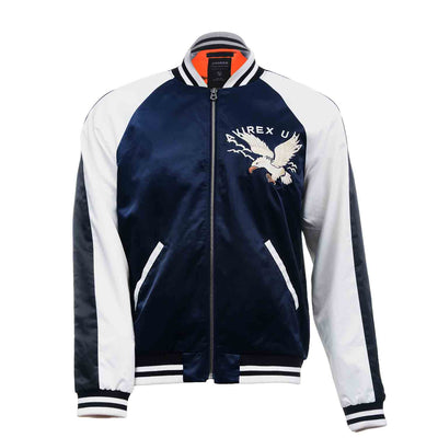 Avirex Three-Tone Satin Eagle Bomber