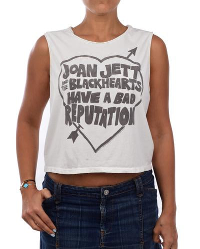 JOAN JETT BAD REPUTATION CROP MUSCLE TANK
