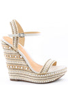 Schutz Carminda Espadrille Wedge Sandals