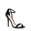 WILD DIVA Satin Ankle Strap HEELED SANDALS