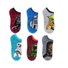 STAR WARS CHARACTER SOCKS 6 PACK - TODDLER