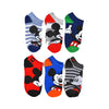 MICKEY MOUSE CLASSIC SOCKS 6 PACK- TODDLER