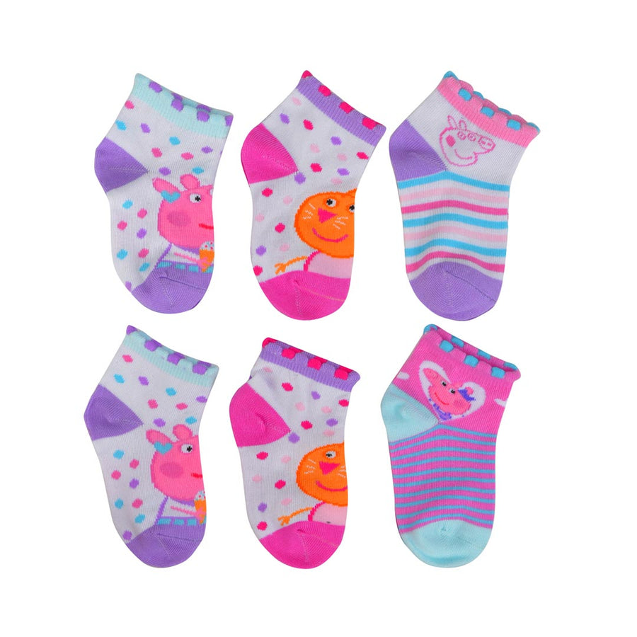 PEPPA PIG CHARACTER SOCKS- INFANT