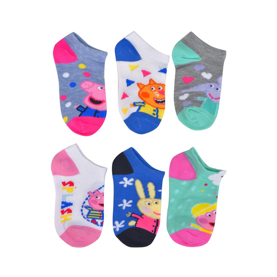 PEPPA PIG PLAYING IN THE RAIN SOCKS- TODDLER
