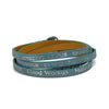"GOOD WORK(S) ""PEACEFUL"" WRAP AROUND BRACELETS"