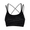GAIAM WOMEN'S STRIPED STUDIO BRA