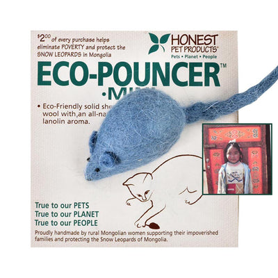 HONEST PET PRODUCTS ECO POUNCER-MINI